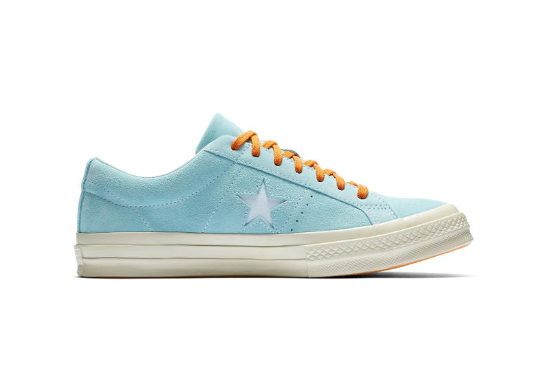 70f1849f72 It s available in a Clearwater White colorway. Tyler the Creator Converse  One Star Clearwater White