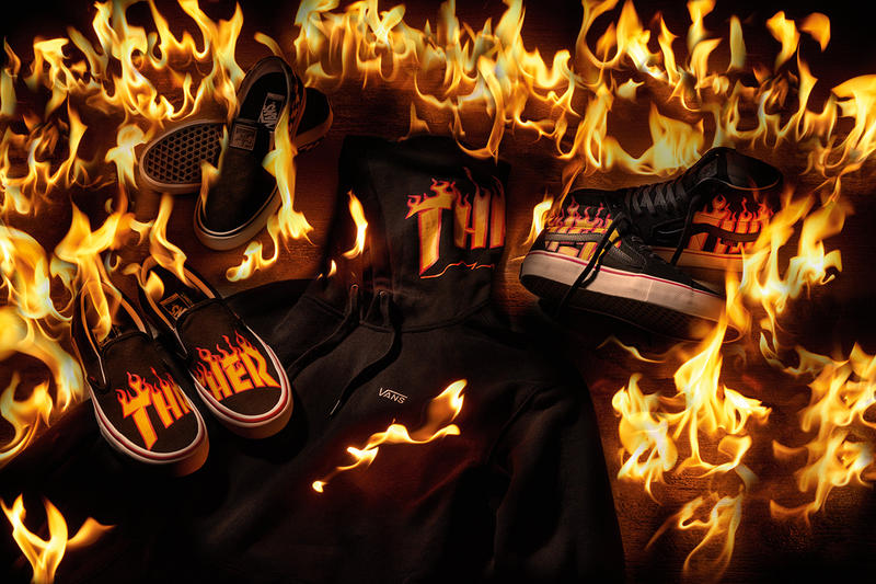 Vans x Thrasher Collaboration