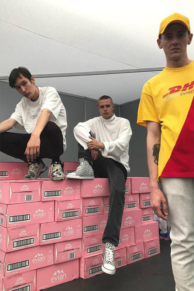 Vetements DHL Fashion Apparel Collection Clothing Luxury