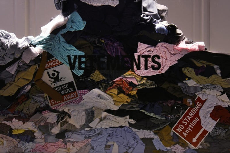 Vetements Saks Fifth Ave Pile of Clothes