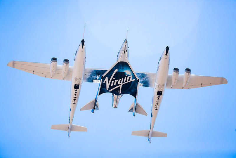 Virgin Galactic Testing Space SpaceX Richard Branson Blue Origin