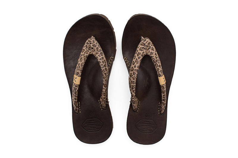 visvim Lama Sandal Folk Leopard Flip Flops 2017 Summer Hiroki Nakamura Japan