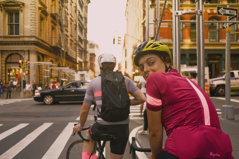 VSCO x Oakley Prizm Sport Lens biking in NYC