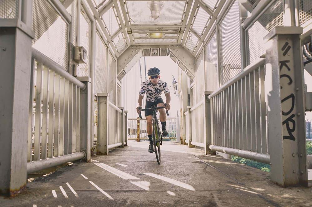 VSCO x Oakley Prizm Sport Lens biking on bridge