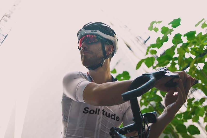 VSCO x Oakley Prizm Sport Lens close up of biker