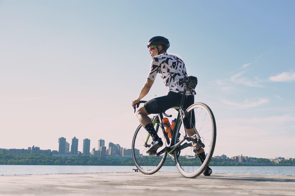 VSCO x Oakley Prizm Sport Lens biker overlooking water