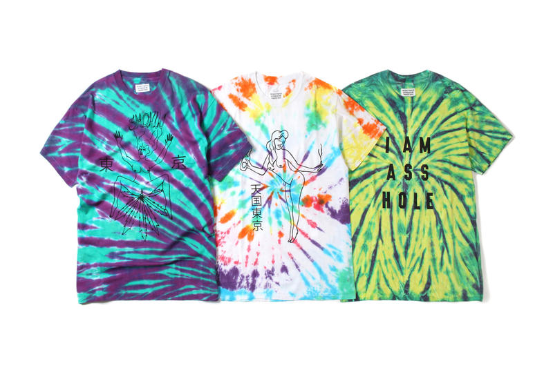 WACKO MARIA Tie-Dye T-Shirts