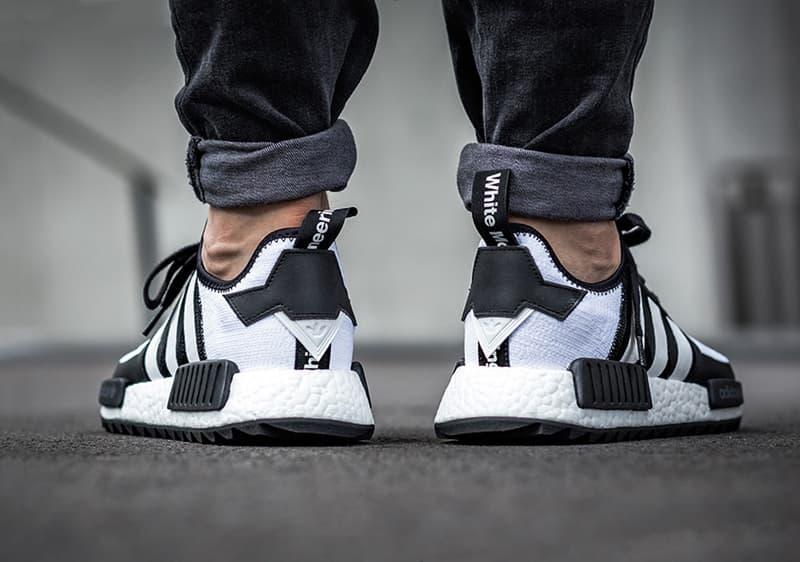 On-Feet Look adidas Originals White Mountaineering NMD