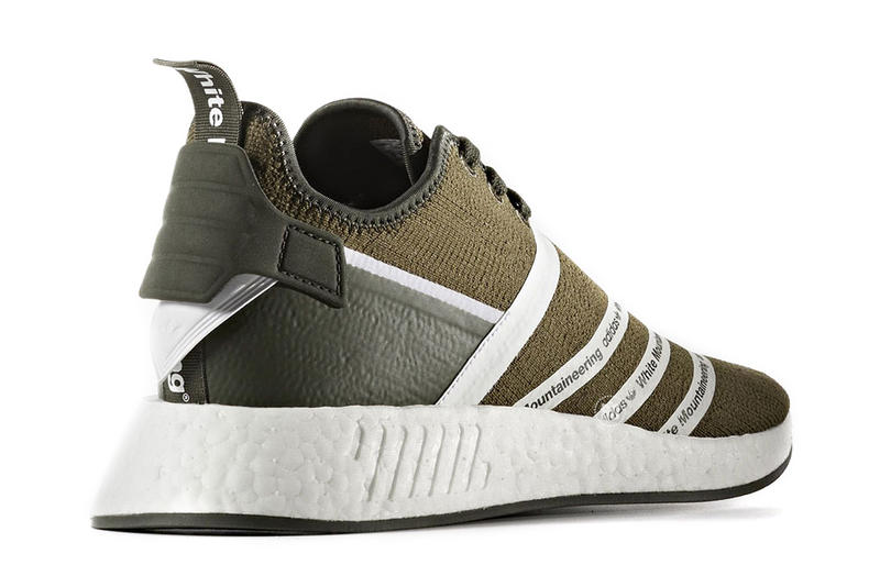 White Mountaineering adidas NMD R2 Second Collaboration Black Olive