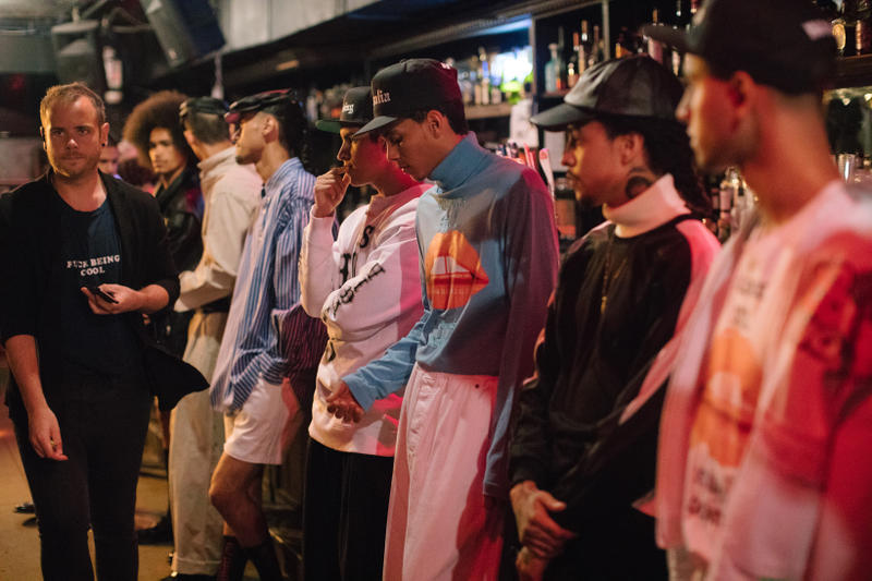 Willy Chavarria 2018 Spring/Summer Collection New York Fashion Week Men's Backstage