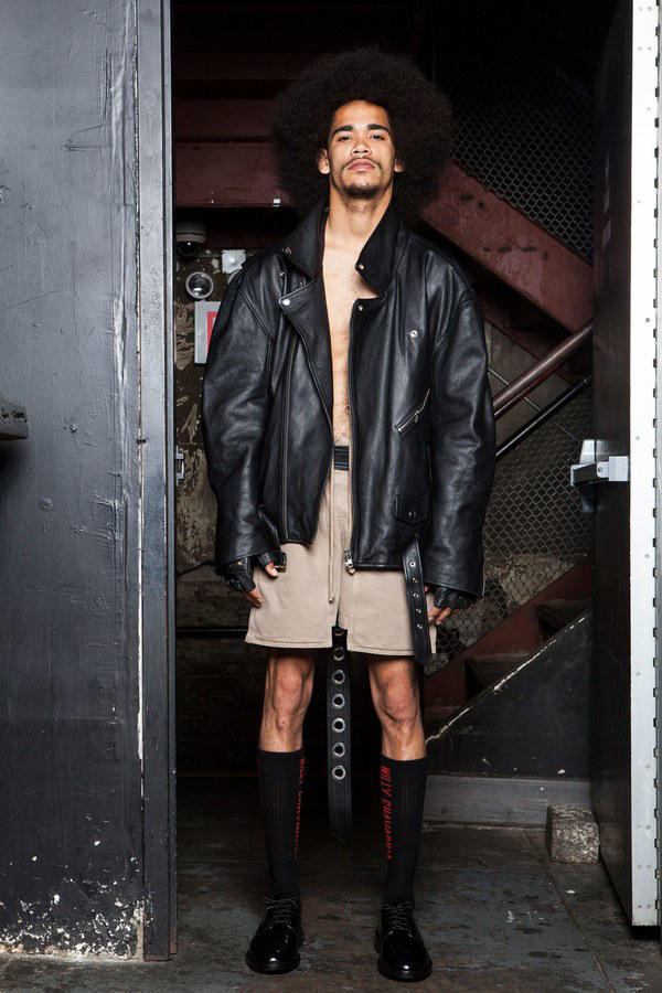 Willy Chavarria 2018 Spring/Summer Collection New York Fashion Week Men's