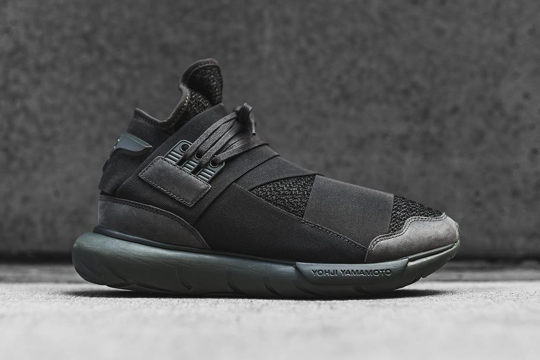 adidas Y-3 Qasa High in Black/Olive