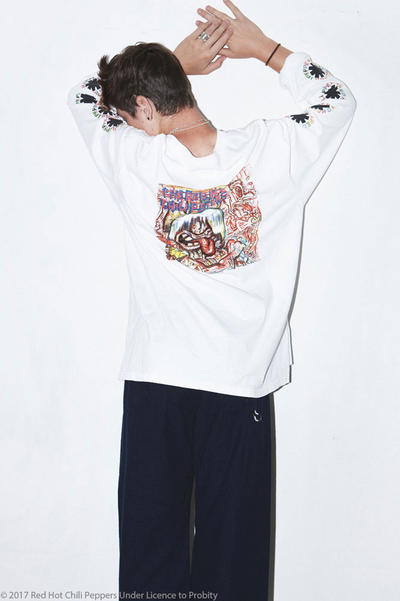 YSTRDY'S TMRRW Debuts 2017 Fall Winter Collection Red Hot Chili Peppers Lookbooks