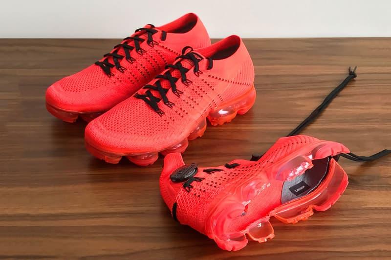 Sneaker Designer Zhijun Wang Reworks CLOT Nike Air VaporMax Face