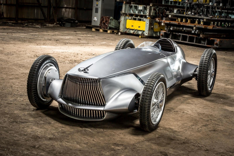 Infiniti Prototype 9 EV Power