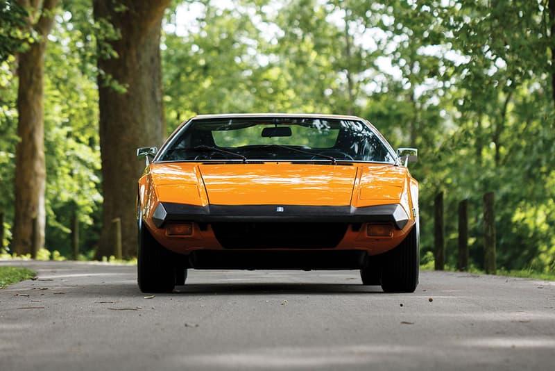 1974 De Tomaso Pantera L Auction Last Ever United States America Delivery