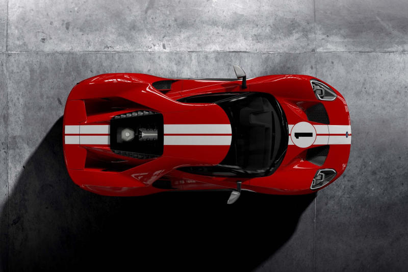 2018 Ford GT 67 Heritage Edition 24 Hours Le Mans Ferrari Race Red 1967 GT40 Mark IV AJ Foyt Dan Gurney