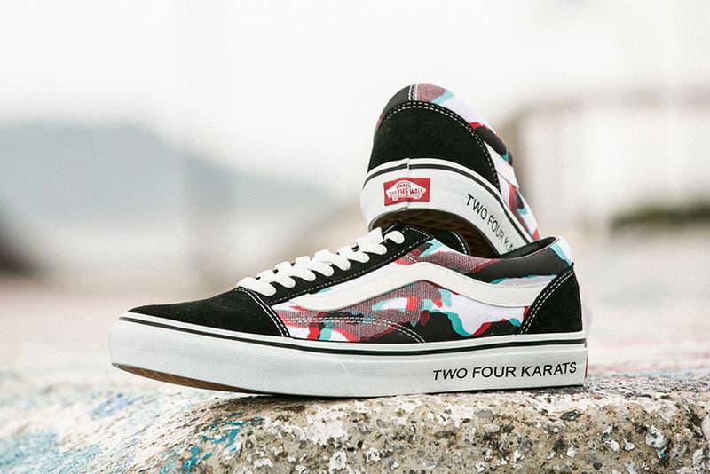 24karats Vans Old Skool Japan 24 Karats Collaboration Skate Shoe