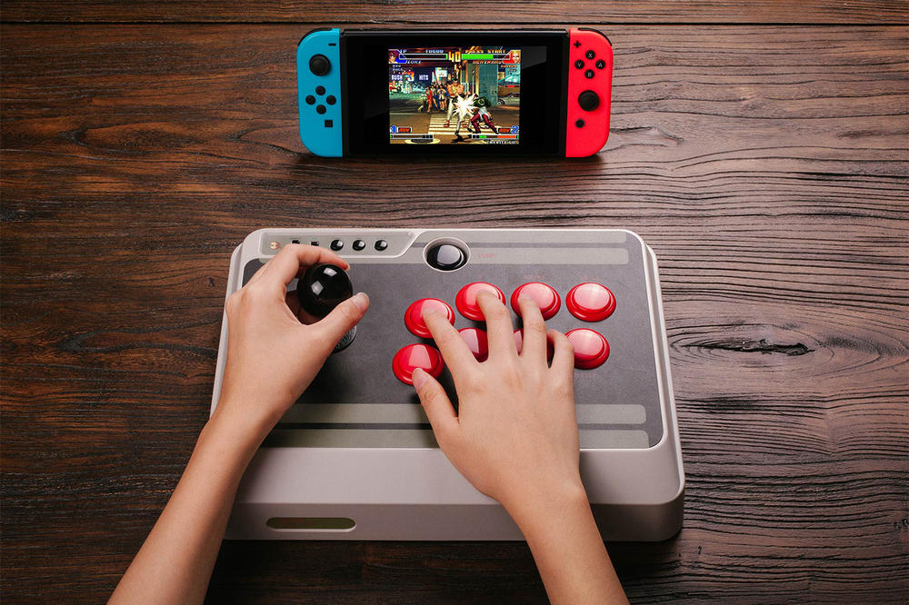 Bring the Arcade Experience to Your Nintendo Switch with 8Bitdo's Newest Controller