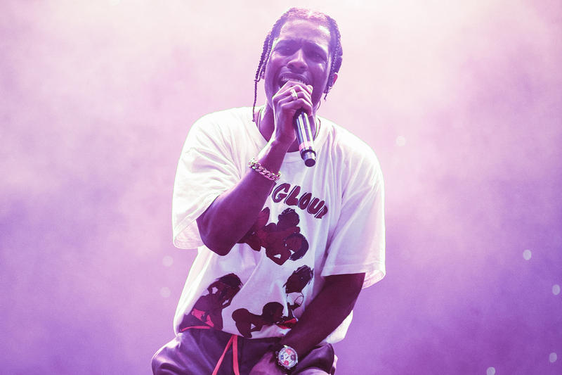 ASAP Rocky AWGE Site Merch Cozy Tapes Vol 2 Too Cozy Roling Loud Festival