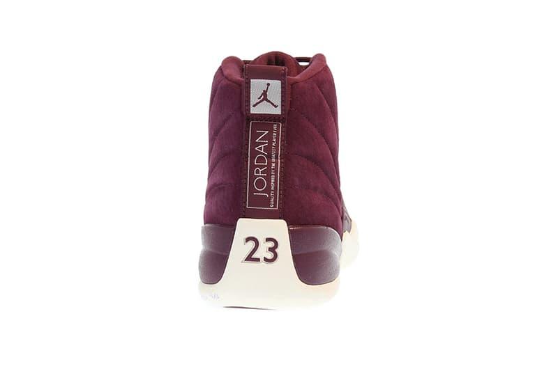 Air Jordan 12 Bordeaux Purple