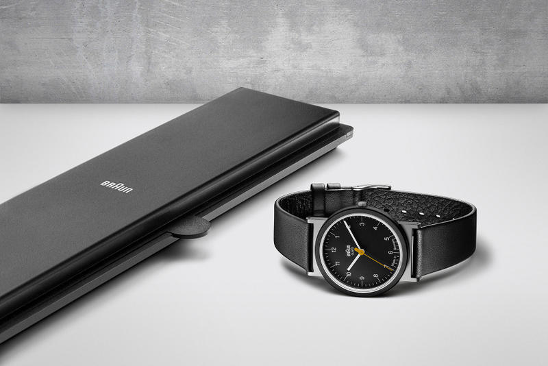 Braun Relaunches Classic AW10 and AW50 Watches Dietrich Lubs Dieter Rams