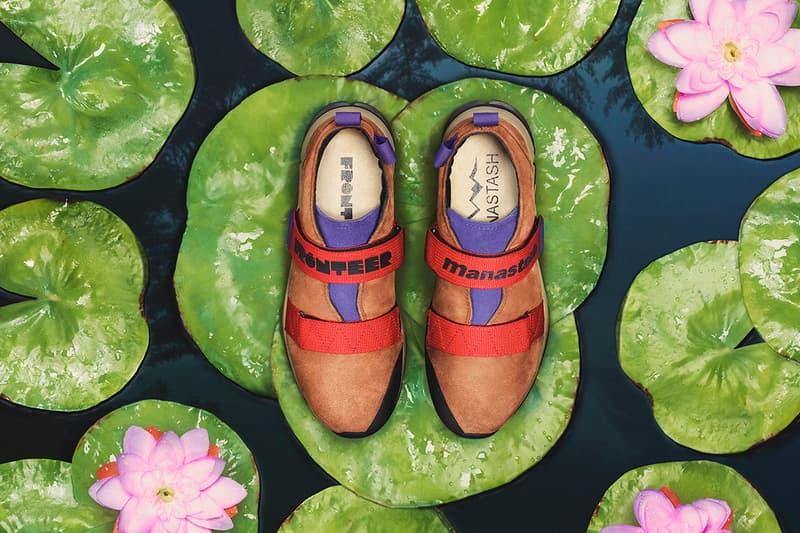 Manastash FRONTEER Aqua Solo Sneaker Collaboration Out Door Deep Water Soloing Shoes