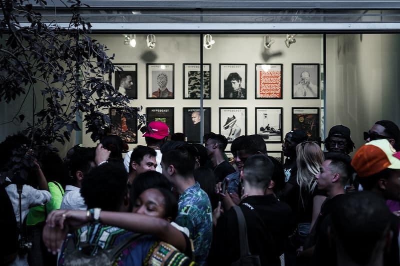 HYPEBEAST Magazine 5th Anniversary Party tANJA gRUNERT Art Gallery West Chelsea New York City NYC