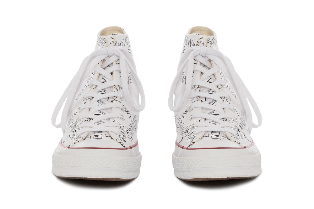 J.W.Anderson x Converse Collaboration Footwear