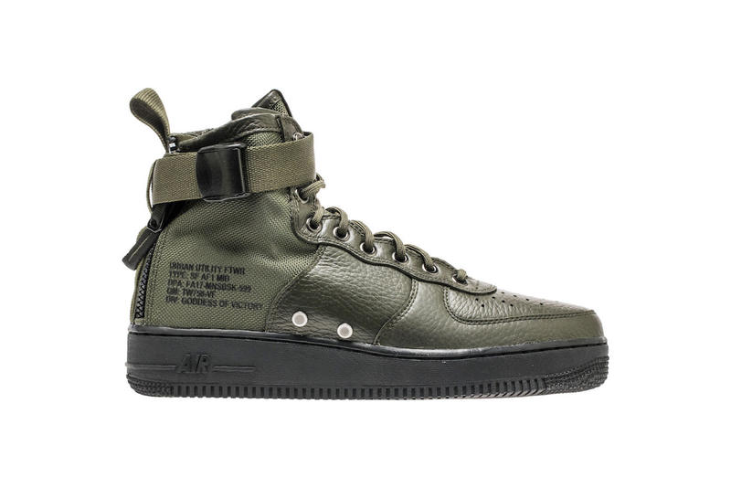 Nike Special Field Air Force 1 SF-AF1 Mid Sequoia Colorway Military Green Olive