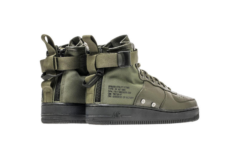 11c9deef4075 Nike Special Field Air Force 1 SF-AF1 Mid Sequoia Colorway Military Green  Olive