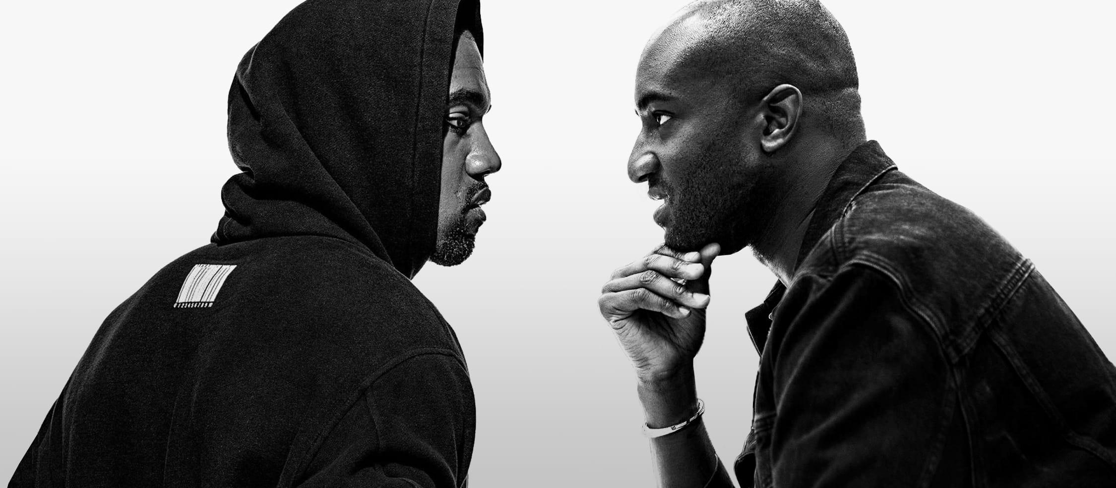 Virgil Abloh and Kanye West: Designer