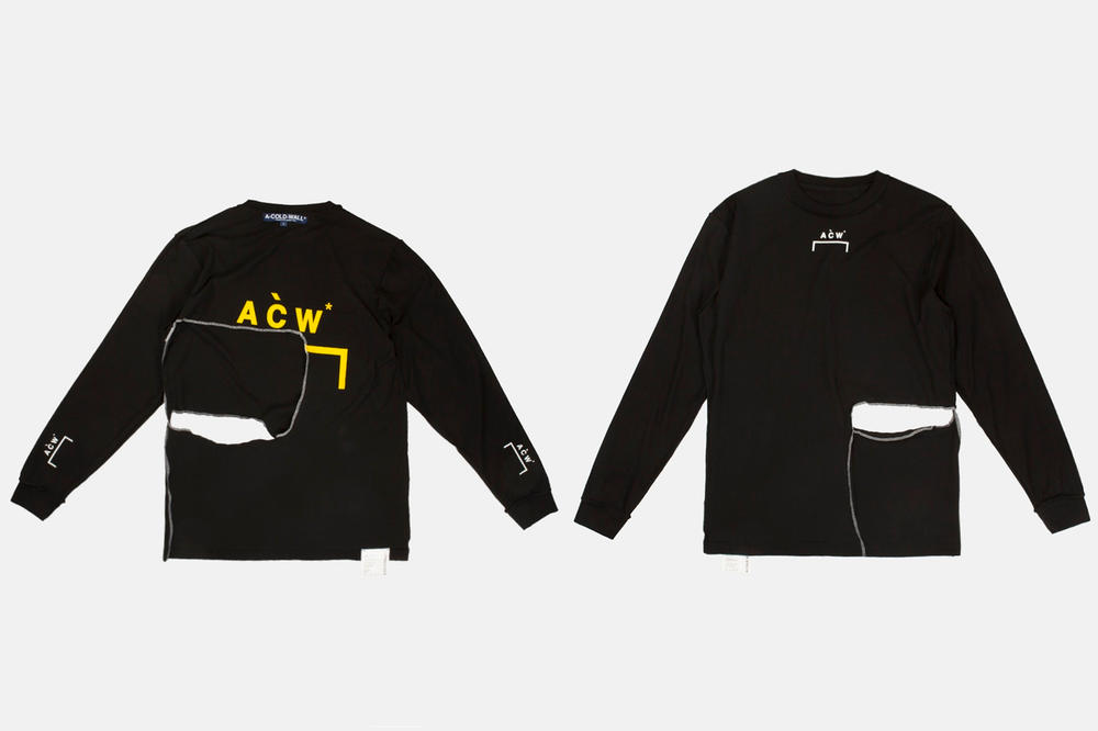 A-COLD-WALL* JUICE Hong Kong Pop-Up Product List