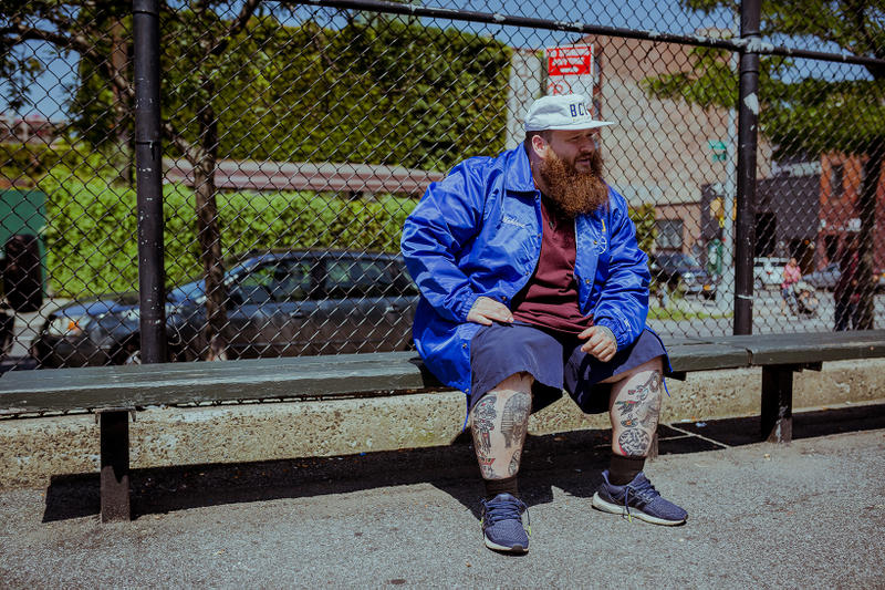 Action Bronson Packer Shoes Starter BCU Official Team Apparel Collection Blue Chips 7000 2017 August 26 Release Date Info