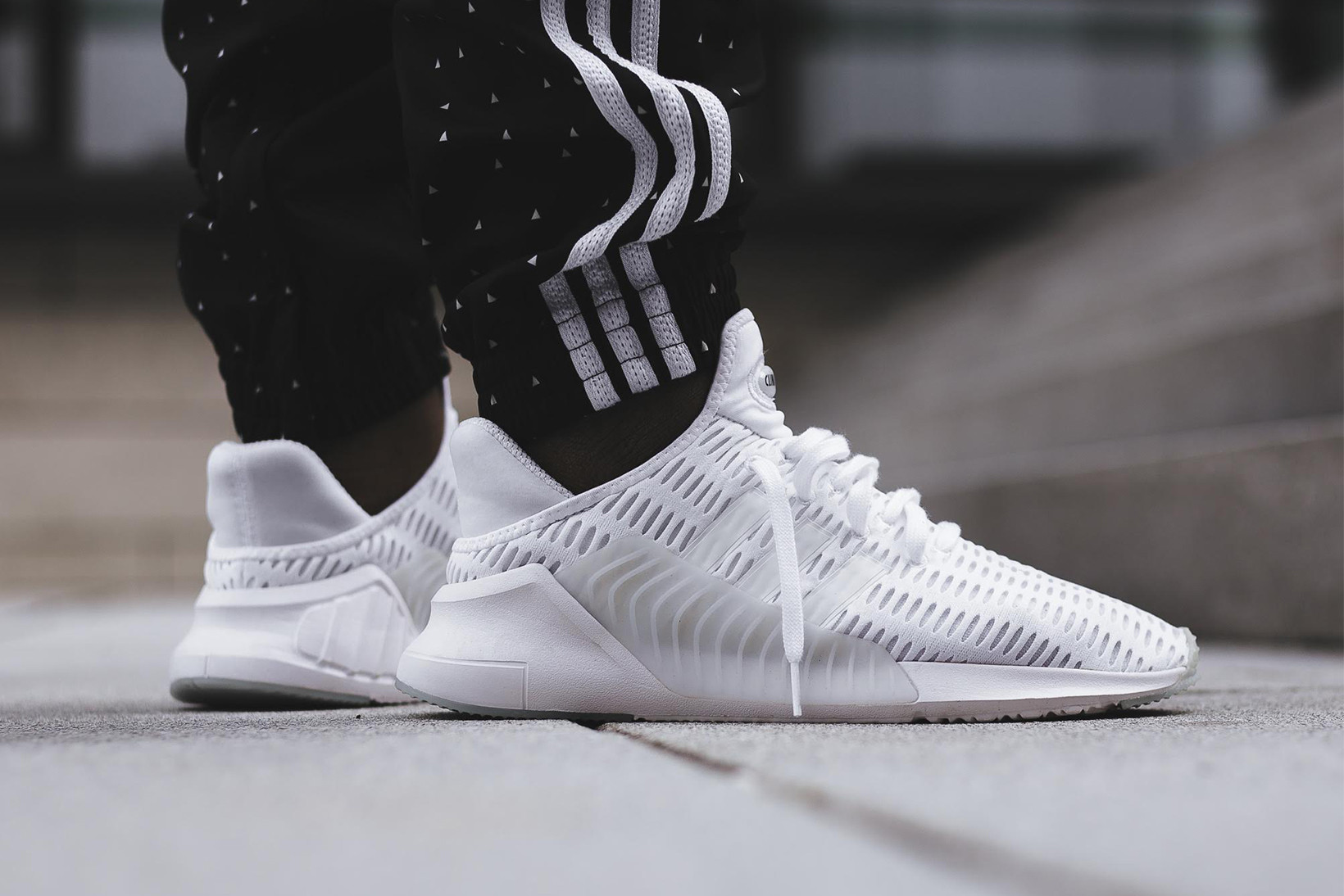 adidas climacool black and white