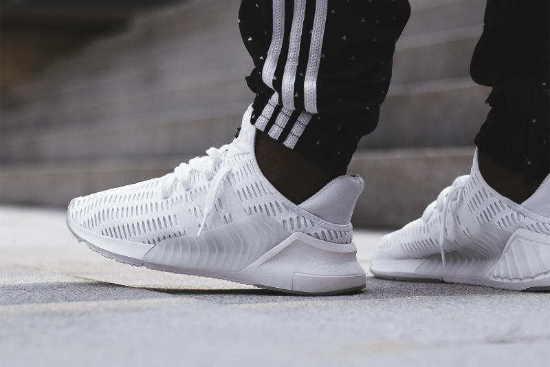 timeless design b4d61 23ca8 adidas ClimaCool 02/17 White & Black On Feet | HYPEBEAST