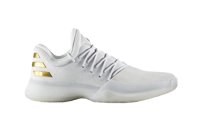 68b64088792686 adidas Celebrates James Harden s Career High Season With a Gilded
