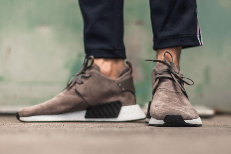 adidas NMD City Sock 2 Brown Suede On Feet Upclassics Sneakers Shoes Footwear 2017 August Release Date Info