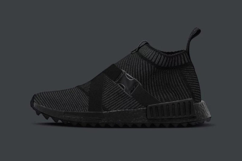 adidas NMD CS1 The Good Will Out Triple Black Strap Sneakers dd4f7d14c