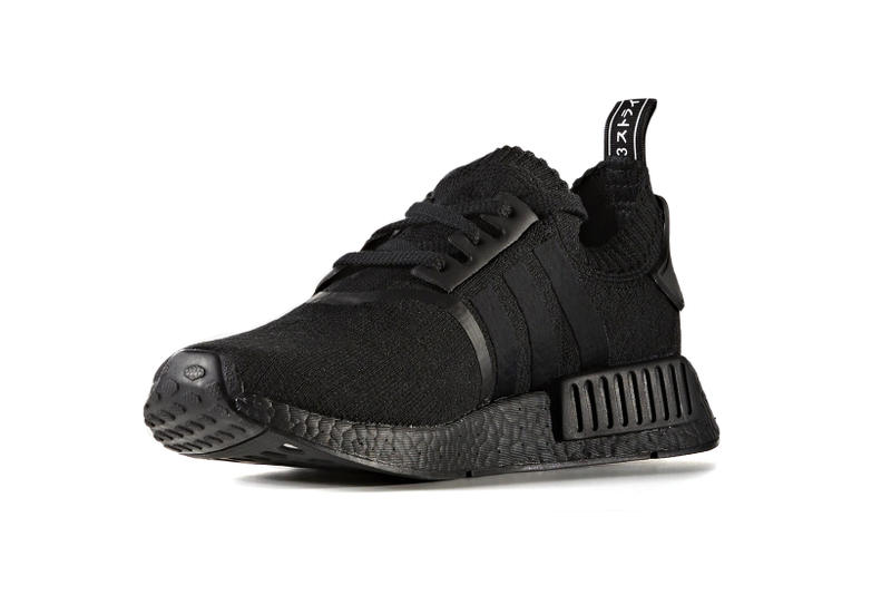 adidas NMD R1 Japan BOOST Pack Triple Black White japanese originals sneakers shoes kicks