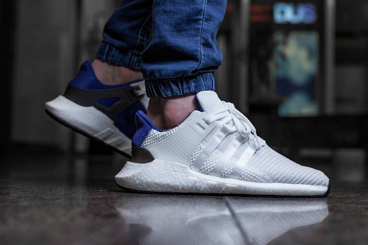 339c4d2cf03424 An On-Feet Look at the adidas Originals EQT Support 93 17 in Royal