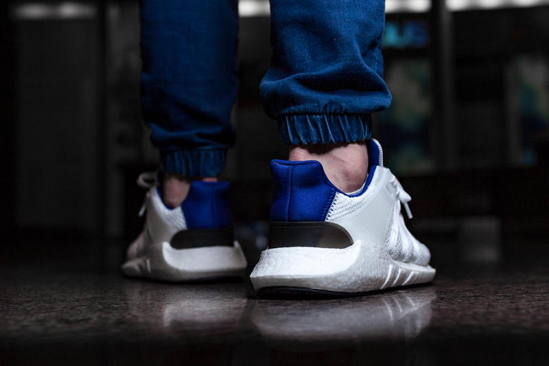 adidas Originals EQT Support 93 17 Royal Blue On Feet 2017 August Release Date Info Afew Shoes Sneakers Footwear