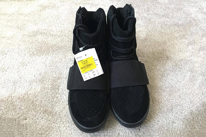 adidas Yeezy Boost 750 Triple Black Outlet Kanye WEst