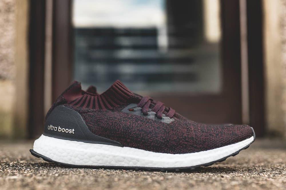 adidas UltraBOOST Uncaged Dark Burgundy Sneakers Shoes Footwear 2017 August Release Date Info Hanon