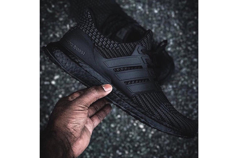 412b7936d1d34 adidas UltraBOOST 4.0 Triple Black Detailed Look