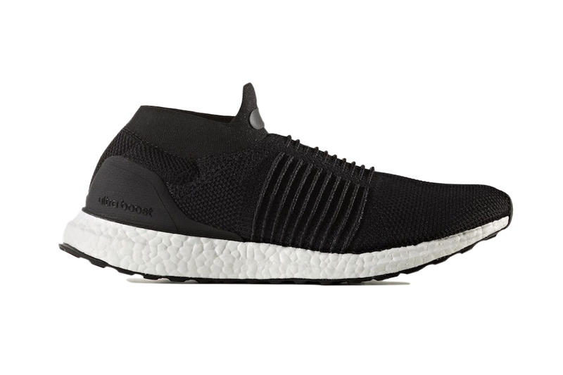 adidas Ultra Boost Laceless Core Black