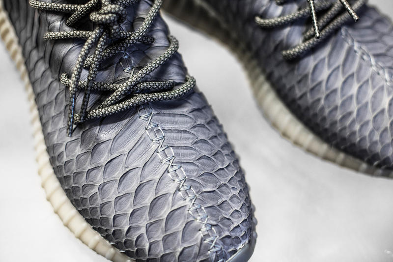 adidas Originals YEEZY BOOST 350 The Shoe Surgeon Grey Python