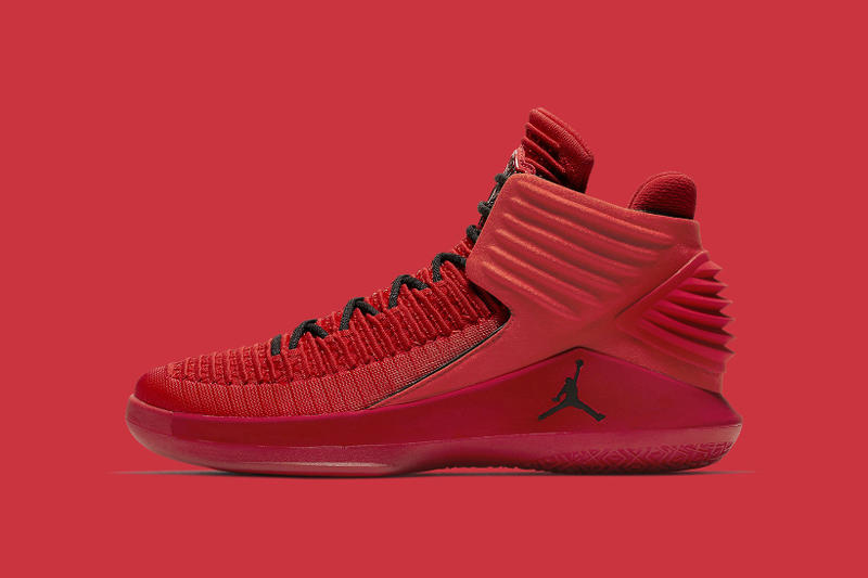 Air Jordan 32 Rosso Corsa Red Launch Colorway 2017 September 29 Release Date Info Sneakers Shoes Footwear