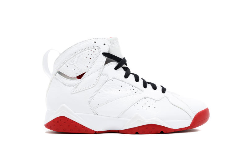 Air Jordan 7 History of Flight 2018 White Red Retro Jumpman
