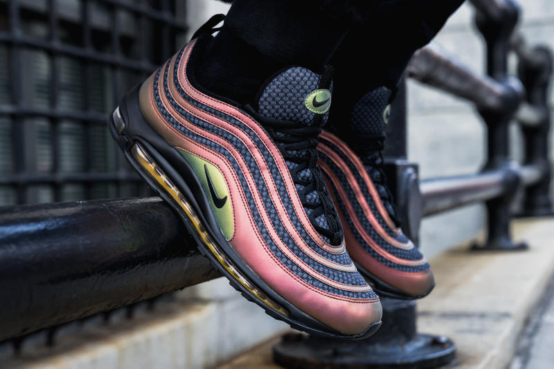 Closer Look at Skepta x Nike Air Max 97 Ultra Sk Multicolor Black Vivid Sulfur
